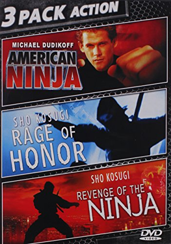 American Ninja & Rage Of Honor & Revenge Of Ninja [DVD] [Region 1] [NTSC] [US Import]