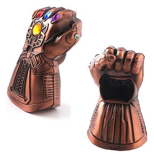 Thanos Handschuh Flaschenöffner, Kronkorkenöffner, Dekoration Öffner Marvel The Avengers 4 Sammlerstücke für Marvel-Fans Geschenk für Bar, Party, Bierliebhaber