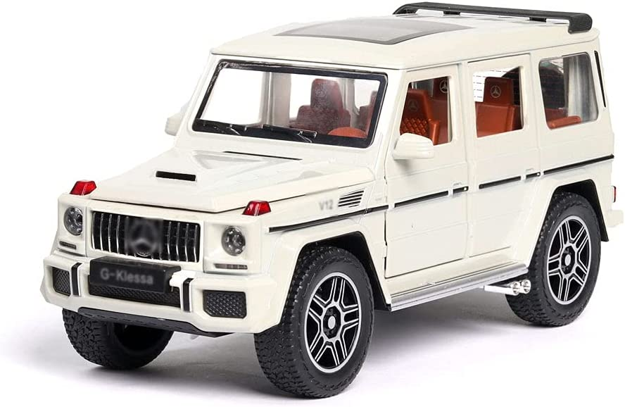 WYKDDM Ranking TOP8 1:24 Scale Alloy Die-cast Vehicle Max 64% OFF Model Ba Off-Road Pull