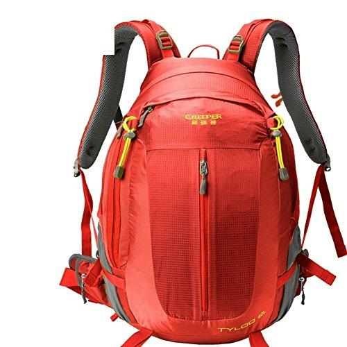 Sincere® Package / Sacs à dos / Portable / Ultraléger Mode sport sac à dos / sac d'alpinisme / extérieur Voyage sac à dos / sac suspension respirant / hydrofuge rouge 50L