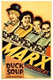 MARX BROTHERS' duck SOUP movie POSTER leo MCCAREY director 1933 24X36 (reproduction, not an original)