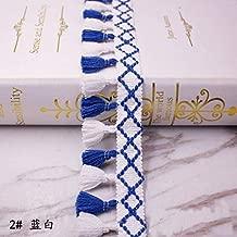 5Yards Colorfuly Tiny Lace Pompom Ball Fringe Trim Sewing-Lace Trim for Sewing-Fringe Trim for Sewing-Fringe Trim for Craft-Lace Trim for Craft-Fringe Trim for Clothing-DIY Sewing Accessory