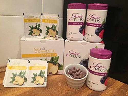 Juice Plus 2 Weeks Trial Of Booster & Berry Capsules