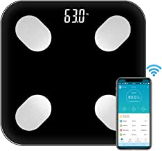 Honeytecs Multi-Functional Body Fat Scales Home Use Intelligent BT Electronic Weight Scale High Precision Sensors Digital ...