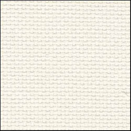 "Zweigart 20Ct Aida-18X21"" Needlework Fabric - Antique White"
