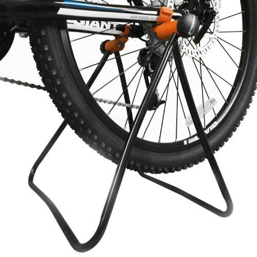 Ibera Soporte De Bicicleta Uso Fácil, Altura Ajustable, Soporte Mecánico Plegable para Reparación Y para Almacenamiento De Bicicleta