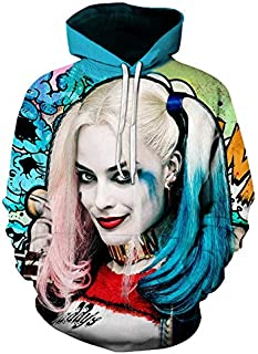 Harley-Quinn 3d Printed Hooded Hoodies For Men And Women