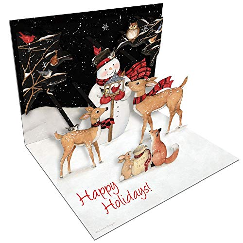 LANG Sam Snowman Pop-Up Christmas Cards (2005103)