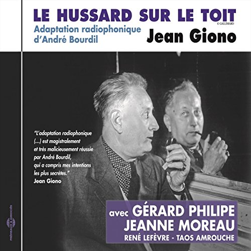 Le hussard sur le toit audiobook cover art