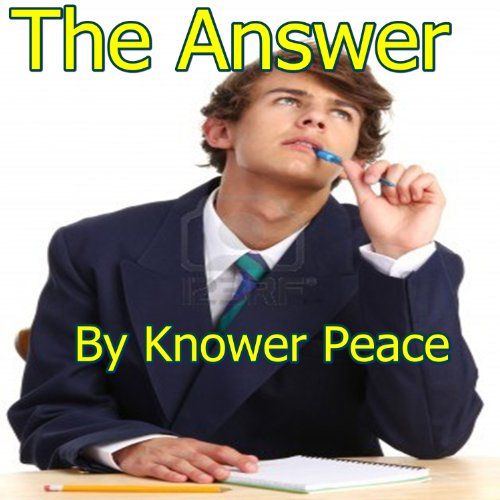 The Answer audiobook cover art