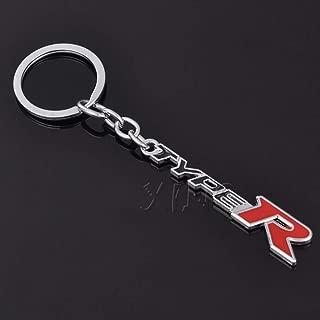 LBPLWY Keychain Llavero,Metal F Sport Emblema Insignias Logo Llavero del Coche Llavero Llavero Llavero Soporte para Lexus Isf RX GS Es CT LX Bx Gx Car Styling
