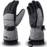 RIVMOUNT Winter Ski Gloves Men Women Waterproof 3M Thinsulate Gloves Snowboard Snowmobile Cold Weather Gloves RSG601