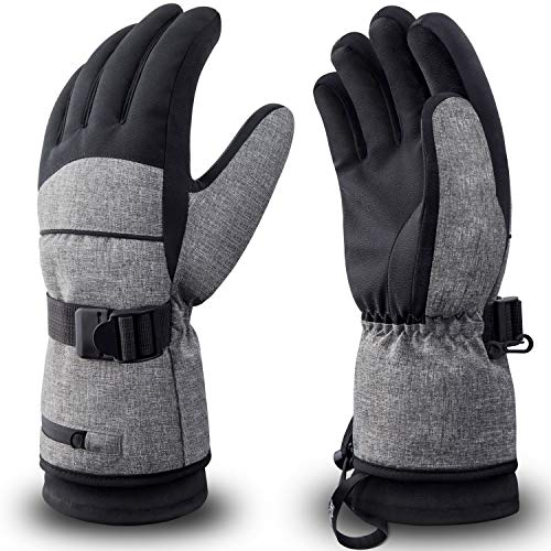 RIVMOUNT Winter Ski Gloves Men Women Waterproof 3M Thinsulate Gloves Snowboard Snowmobile Cold Weather Gloves RSG601