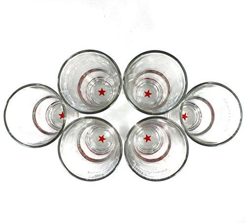 Parliament Vodka Gläser 6er Set inkl. Sonnenbrille ~mn 767 1111+