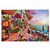 Morning Blossom Tomoving 1000 Pieces Jigsaw Puzzles for Adults Puzzles for Adults Puzzle Adult Difficult and Challenge