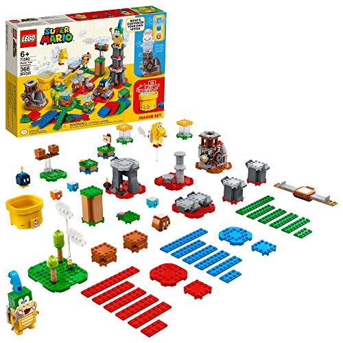 LEGO Super Mario Master Your Adventure Maker Set 71380 Building Kit; Collectible Gift Toy Playset for Creative Kids, New 2021 (366 Pieces)