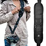 HiiGuy Camera Strap, Adjustable Padded Sling for All SLR and DSLR Cameras, Neck