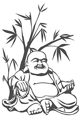 dekodino Wandtattoo Buddha