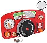 I'm Toy 111547 Wandspiel Auto Motorikspiel für Kinderzimmer, Wartezimmer, Kinderkrippe