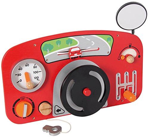 I\'m Toy 111547 Wandspiel Auto Motorikspiel für Kinderzimmer, Wartezimmer, Kinderkrippe