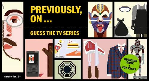 Previously, On : Guess the TV Series (Magma for Laurence King)