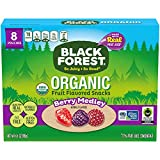 Black Forest Organic Fruit Snacks, Berry Medley, 0.8 Ounce (8 Count) Bags