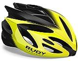 Rudy Project Rush - Casco de Bicicleta - Amarillo/Negro Contorno de la Cabeza S | 51-55cm 2019