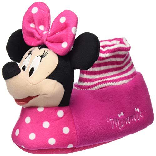 Cerdá 3D Minnie, Zapatillas de Estar por casa para Niñas, Rosa (Rosa C07), 29/30 EU