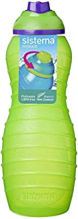 Sistema Davina Water Bottle Twist N Sip 700ML Green