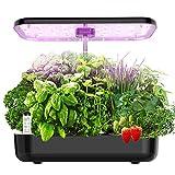 Hydroponics Growing System, EZORKAS 12 Pods Indoor Herb Garden Starter Kit with...
