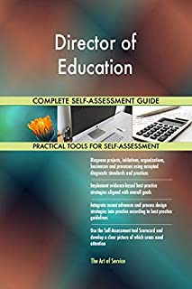 Director of Education Toolkit: best-practice templates, step-by-step work plans and maturity diagnostics