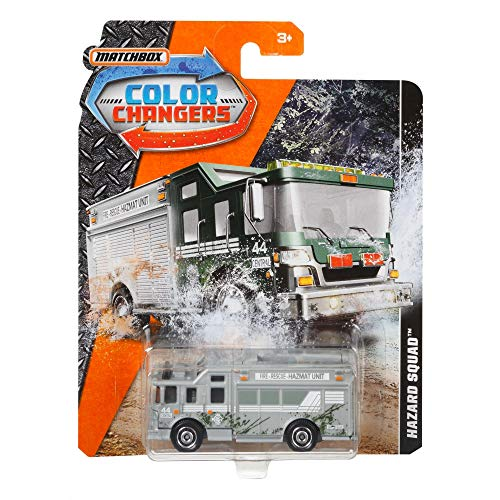 Matchbox Color Changers Hazard Squad