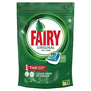 Fairy Original Todo En 1 – Cápsulas De Lavavajillas Pack De 60Unidades