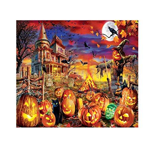 shiruip 1000 Piece Halloween Jigsaw Puzzle,Large Adult Childrens Educational Pattern Toy (ArtKari-04)