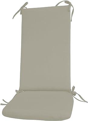 Amazon.com: Juego de 2 cojines de espuma para interiores ...
