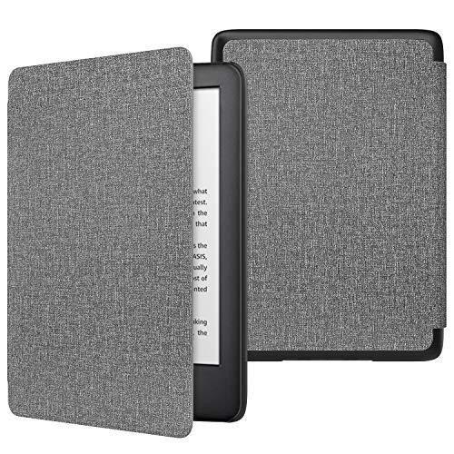 MoKo Funda para Kindle 10th Generation 2019 Release (Modelo No 9G29R), Cubierta Protectora con Smart Shell con Auto Sueño/Estela (No para Kindle Paperwhite) - Mezclilla Gris