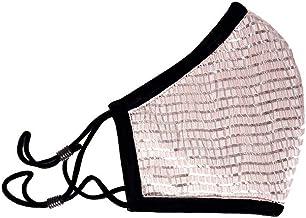 Fashion Face Mask For Women - Stylish Satin Face Cover - Washable Fabric - Adjustable