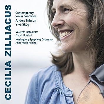 Skog & Nilsson: Contemporary Violin Concertos