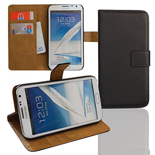Eximmobile Funda con tapa para Samsung Galaxy Ace 4, color negro