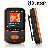 MP3 Player Bluetooth 4.1 Sport 8GB - Verlustfreier Sound FM Radio,Sprachaufzeichnung,E-Book und andere
