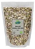 Mezcla orgánica de semillas Omega de 1 kg por Hatton Hill Organic.(semillas de girasol, s...