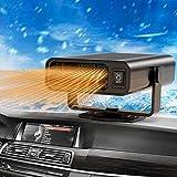 Auto Riscaldatore Parkarma 12V 150W Riscaldatore per Auto Riscaldatore per Auto Portatile 2 in 1 Riscaldamento /& Ventilator Ventola Riscaldante per Auto Sbrinatore Riscaldamento Auto