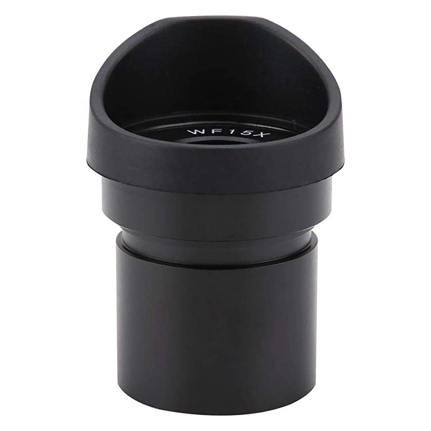 Microscope Eyepiece, WF15X Microscope Ocular Lens WFY003a Wide Angle Eyepiece for Stereoscopic Microscope (30.5mm/1.2inch)