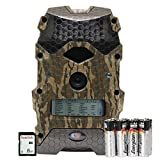 Wildgame Innovations Mirage 16' Trail Camera with Batteries & SD Card, Mossy Oak Bottomland, Ready To Scout Package