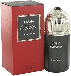 Cartier Pasha De Cartier Noire By Cartier Eau De Toilette Spray 3.3 Oz for Men - 100% Authentic, 3.4 Oz