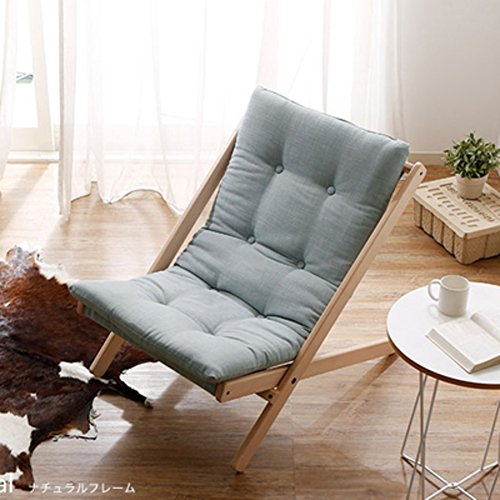 QIQI Mini sofá pequeño,Sofá Perezoso Japon Butaca Plegable sillón de la terraza de Ocio -A
