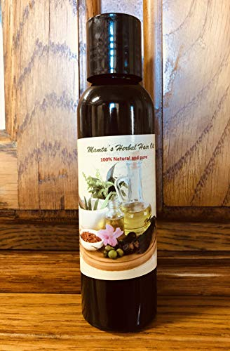 Hair Growth Oil - Herbal and Ayurvedic with Blend of Essential oils (4Fl oz.)