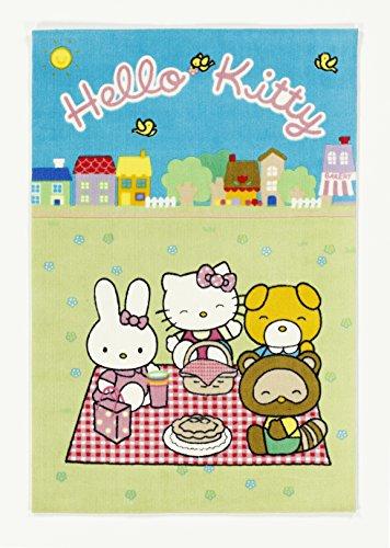 Hello Kitty Kinderteppich, Bunt