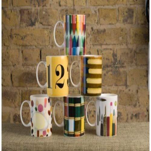 Klein und more Eames Mug Lot de 6 Pièces