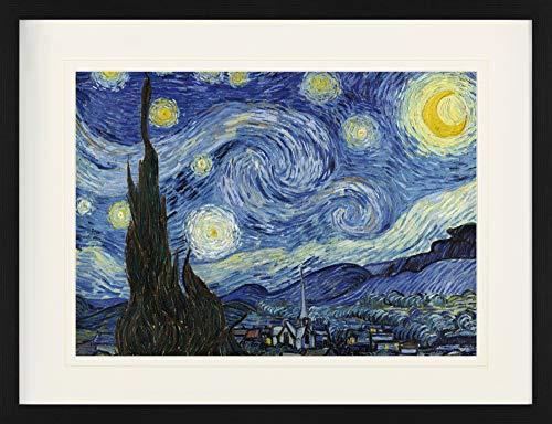 1art1 Vincent Van Gogh - Die Sternennacht, 1889...